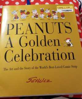 Peanuts A Golden Celebration Snoopy 珍藏書藉