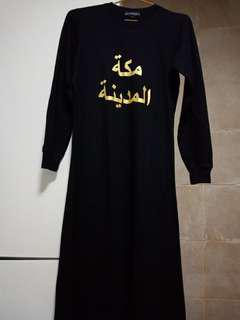 Dress black abaya makkah madinah
