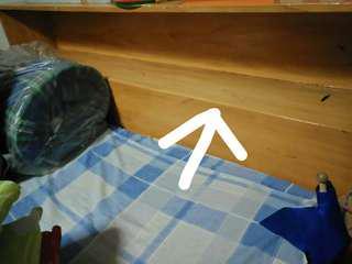 Wooden Bed (Queen Size) no mattress