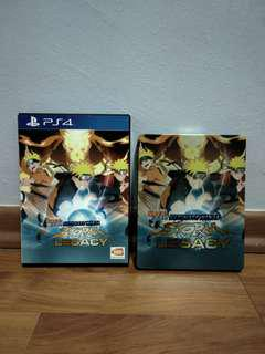 Naruto Storm Legacy, steel casing limited edition copies