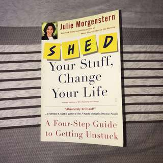 SHED your stuff, Change your life Book
