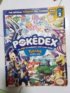 Pokemon Diamond and Pearl Pokedex Book