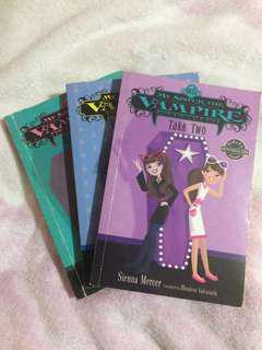 My sister the vampire books (bundle)