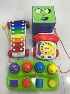 Fisher Price Toys (One Set of 4)