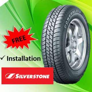 [Brand New] Silverstone 1800 tyres in different sizes