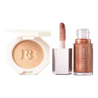 PO Malaysia - Fenty Beauty Gloss bomb and Highlighter set