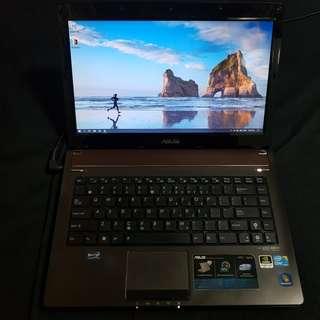 ASUS Laptop i7 4GB Ram 500GB HDD Windows 10