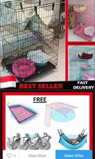 3 Tier Cat Cage