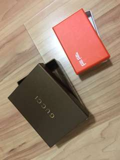 Gucci and follie box