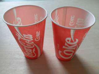 香港懷舊可口可樂杯 30隻