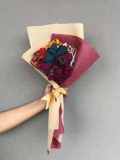 Bucket Bouquet Scarf
