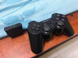 PS2 Wireless Controller (BLACK)