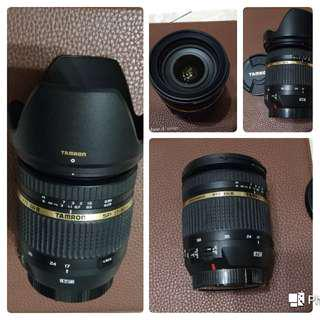 🚚 Tamron SP 17-50/f2.8 VC(B005 for Canon)