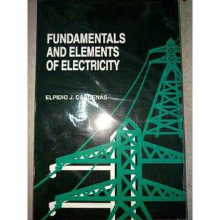 Fundamentals And Elements Of Electricity Cardenas