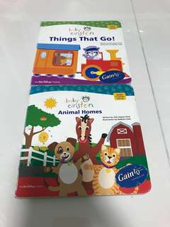 Preloved Baby Einstein (Things that go, Animal Homes)