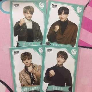 SHINee World J Official Janken Cards (FIVE TOUR 2017)