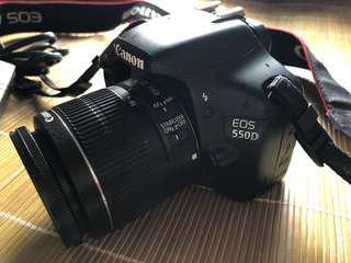 Canon 550D 八成新連原廠18-55mm