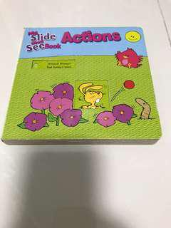 Preloved My Slide and See Book on Actions