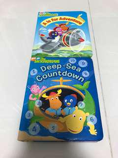 Preloved The Backyardigans Book x 2 ( A is for Adventure, Deep-Sea Countdown)