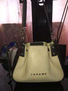 Authentic renoma shoulder bag