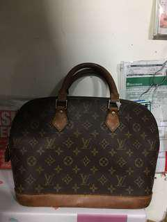 LV ALMA MEDIUM NO CODE FLAWS HANDLE