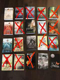 YA novels for sale!!