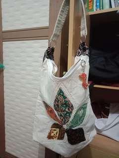Tas i love SG (impor) dan tas batik (oleh oleh)