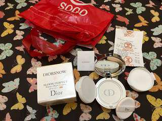 Diorsnow bloom perfect cushion shade C10 New(No Nego) counter 1jt 50rb