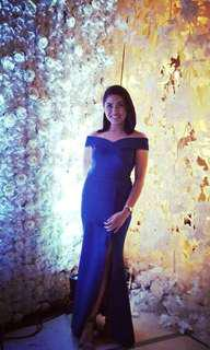 Apartment 8 gown for rent medium royal blue
