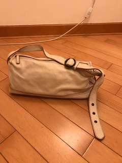 Beige color hand bag