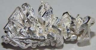 7.38克99.99%白银结晶