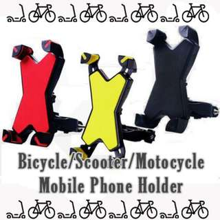 Brand new in stock Bicycle Scooter Motor Bike mobile phone holder claw shaped HP holder handphone