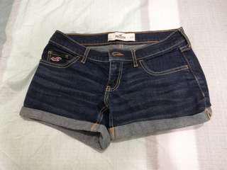 🚚 Hollister 深色牛仔短褲