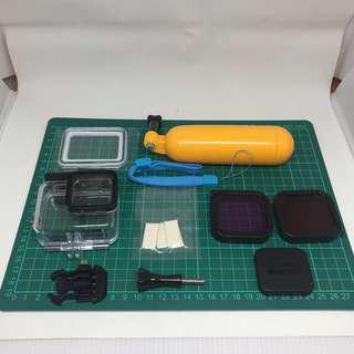 GoPro 5/6 防水殻連濾鏡套裝(送浮水棒、防霧片)