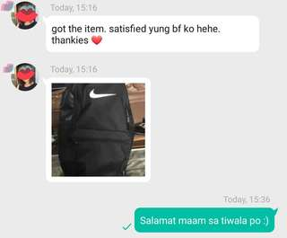 ⏭Feedback time⏮ Nike Brasilia Backpack
