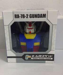 RX-78-2 GUNDAM NAME STAMP-STAND