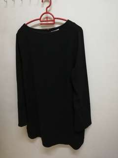 H&M Black Blouse size US 12