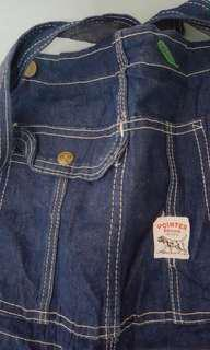 Vintage Pointer Brand Overall
