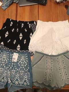 H & m shorts