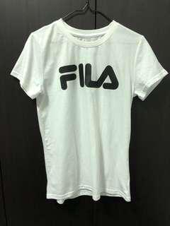 FILA plain logo tshirf