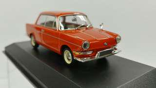 1:43 BMW 700LS 1960 合金模型