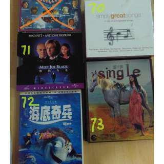 VCD ; CD; DVD