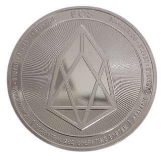 EOS Silver Coin