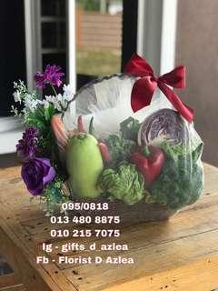 Hamper sayur-sayuran