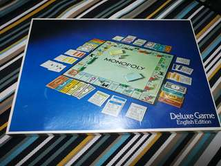 Monopoly Deluxe Edition.