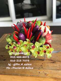 Sayur-sayuran utk hiasan meja