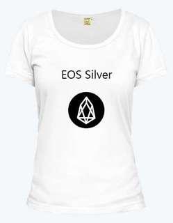 EOS Silver T-shirt for women