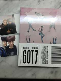 Got7專輯 with tickets