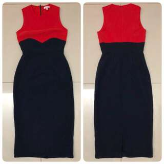 Love Bonito Dress (Navy)