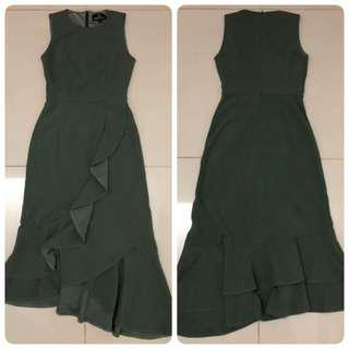Doublewoot  Dress (Olive)